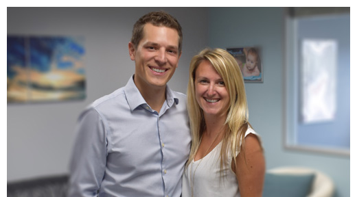 Chiropractor Westlake Village CA Jason Moore with Melanie Moore